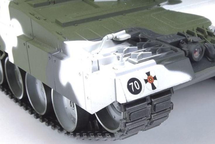 Carro Armato Military Leopard 2a6 Winter Bullet Shooting RC Radiocomandato 2.4G Premium Label di HOBBY ENGINE