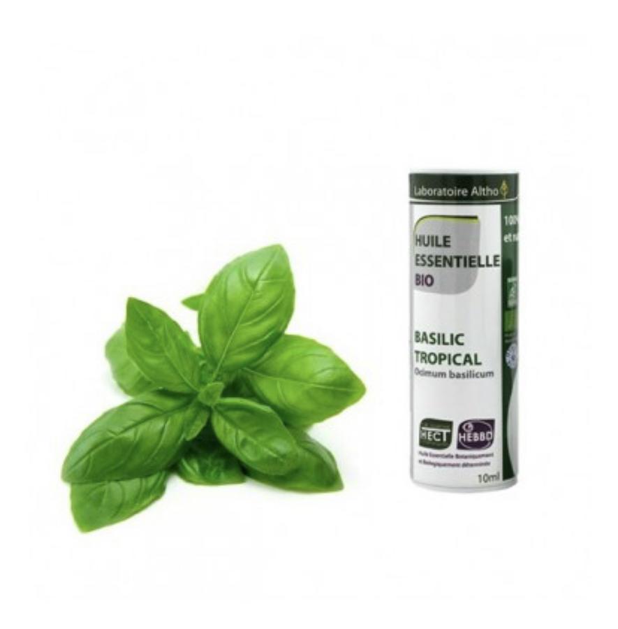 Basilico bio olio essenziale