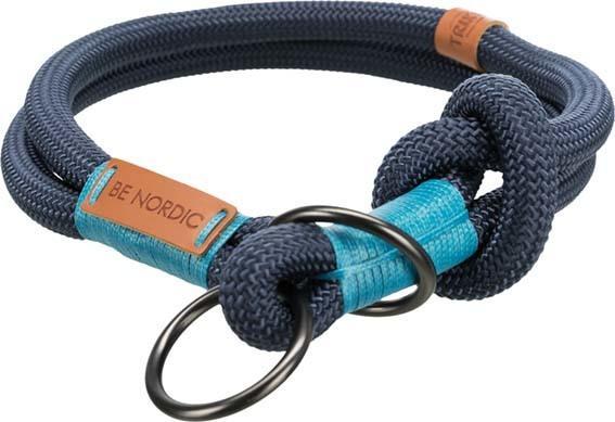 Trixie Be Nordic XL Collare Semistrozzo Per Cani Blu Tubolare 55 cm