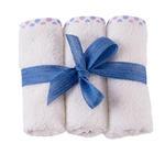 Sqthumb 3 lavette bianco pois fiocco