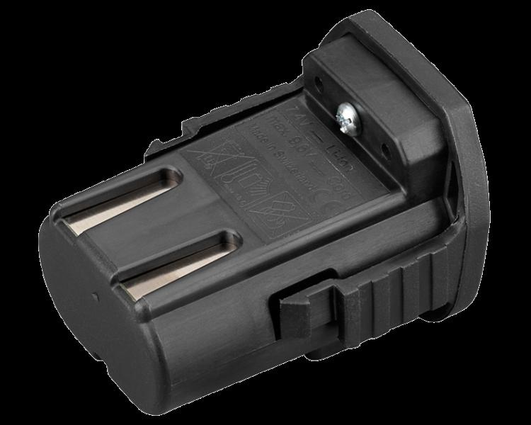 Batteria Lister LI-ION 7,2 V 1600 MAH per Tosatrice LISTER LC PROFI LINE MINI 230 V
