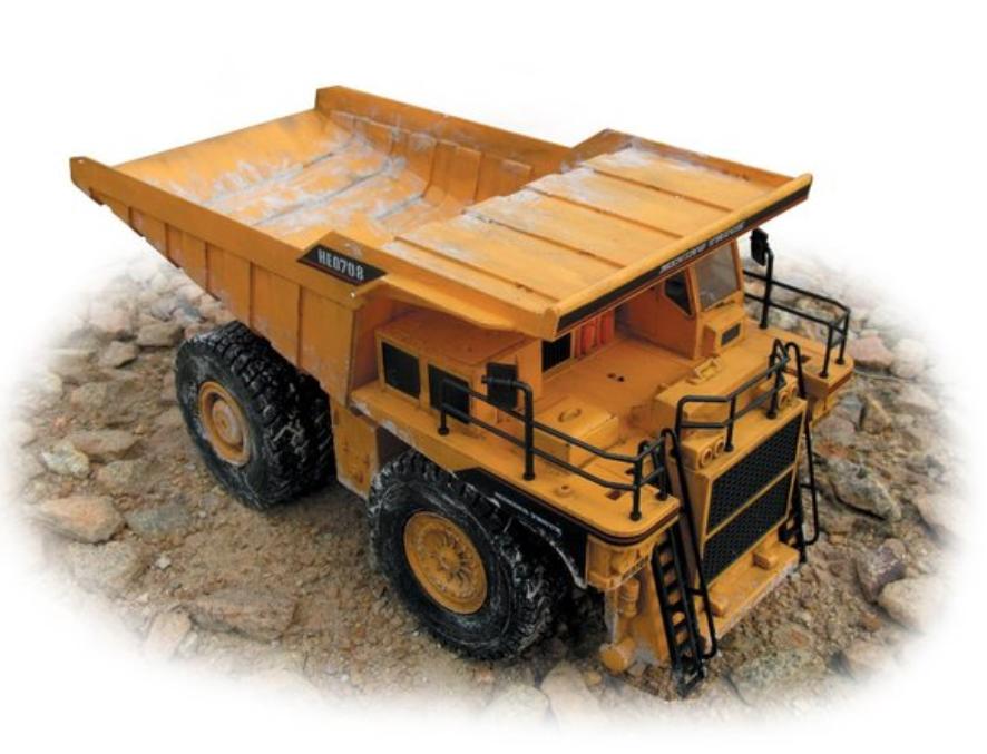 Camion da Miniera RC Radiocomandato 2.4G Premium Label di HOBBY ENGINE