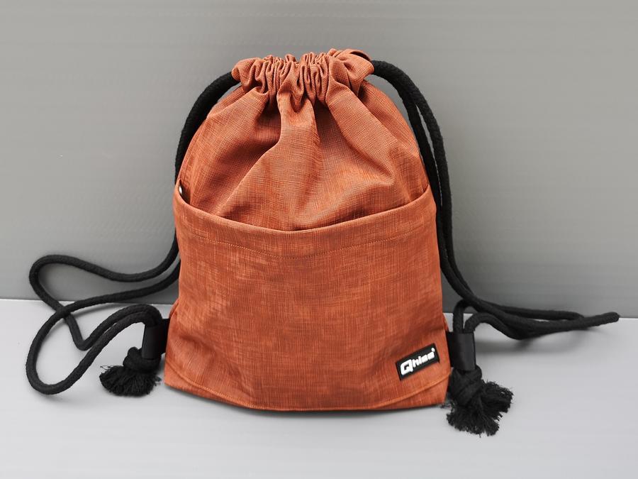 "Bag  ""Freedom "" dark orange"