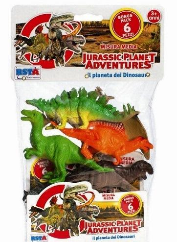 Dinosauri Busta da 6 pezzi