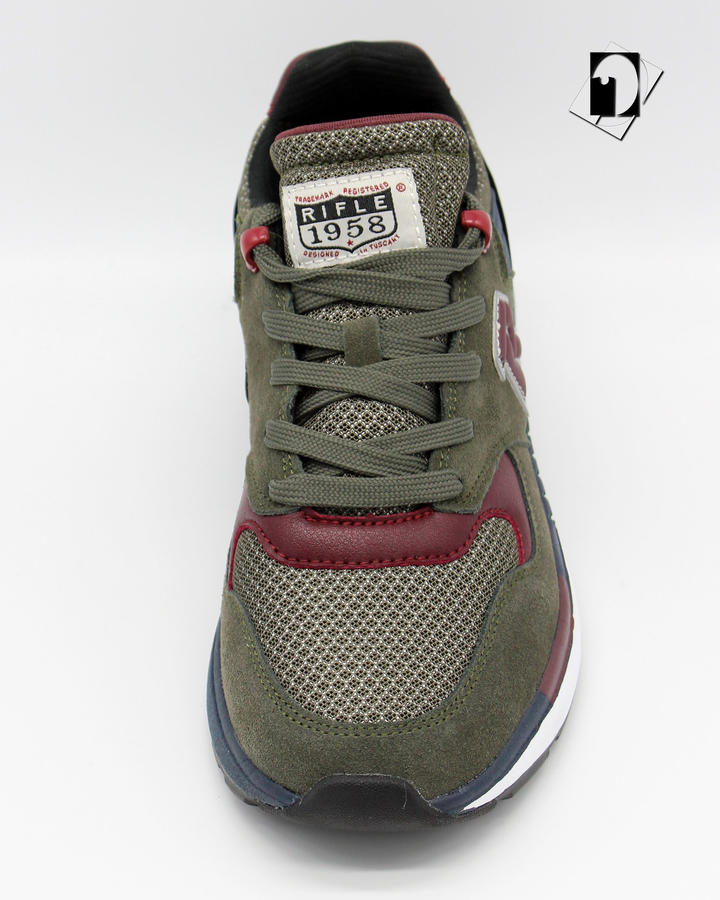 Rifle Kevin SD Sneakers Catfish / Cremisi
