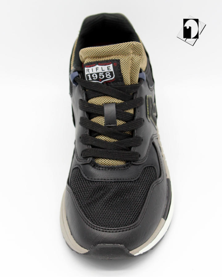 Rifle Kevin Mix Sneakers Black / Musk