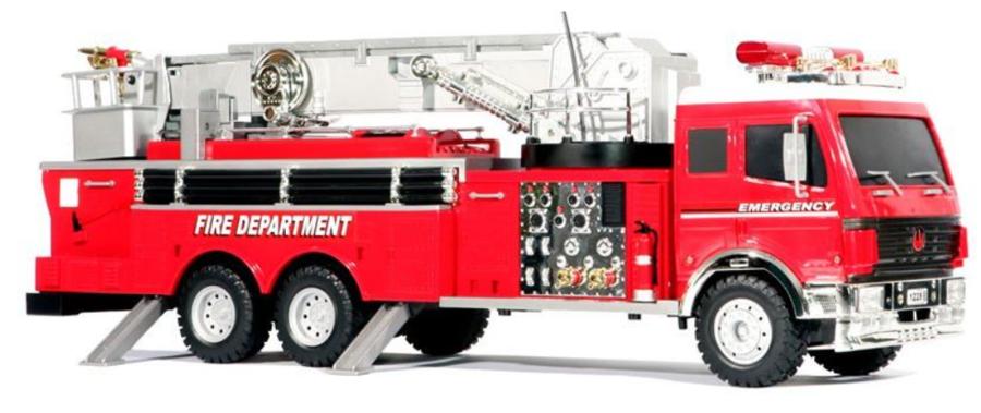 Camion dei Pompieri RC Radiocomandato 2.4Gh di HOBBY ENGINE