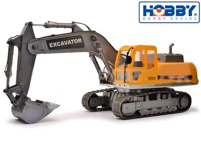 Escavatore RC Radiocomandato 2.4G Premium Label di HOBBY ENGINE