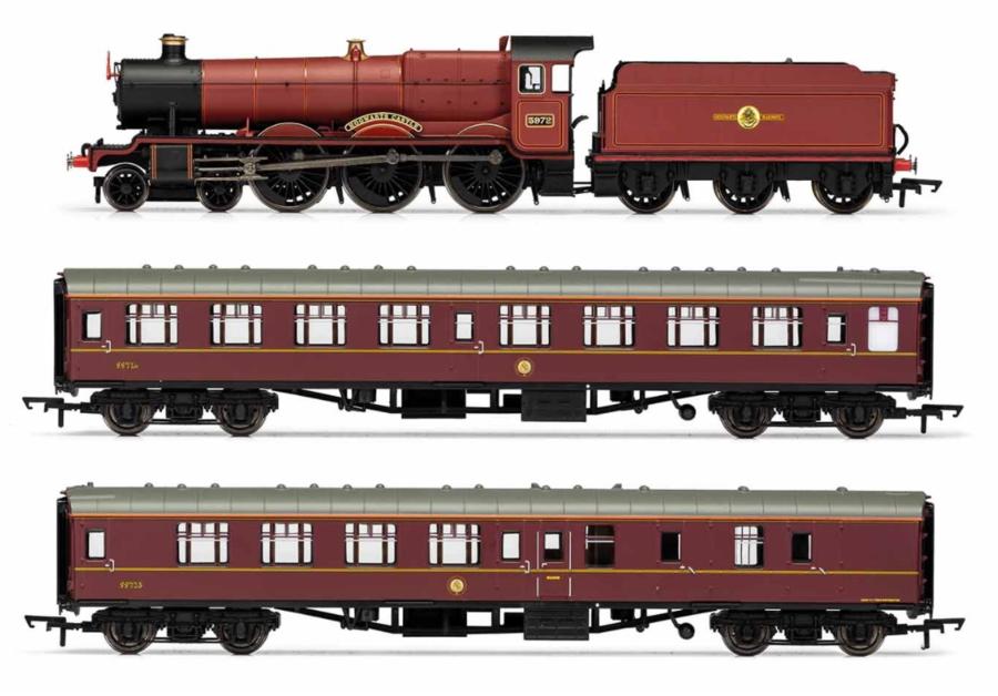 Set Treno e Rotaie Hogwarts Express' Harry Potter di Hornby