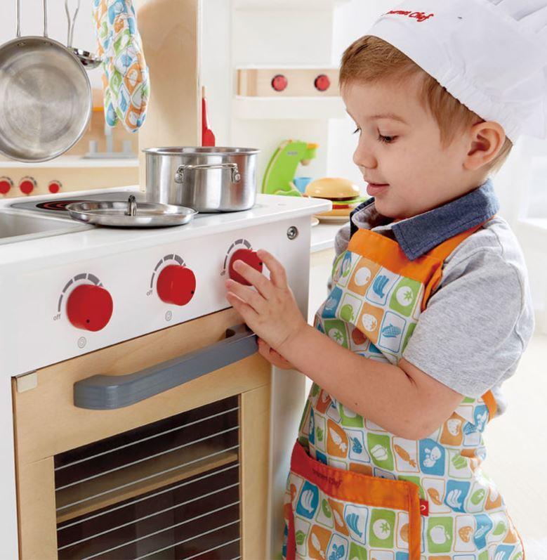 Cucina con Carrello  in Legno Hape
