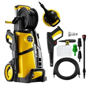 Idropulitrice a freddo LVR4 PLUS 160 DIGIT LAVOR DA 2500 WATT 160 BAR + spazzola lavapavimenti