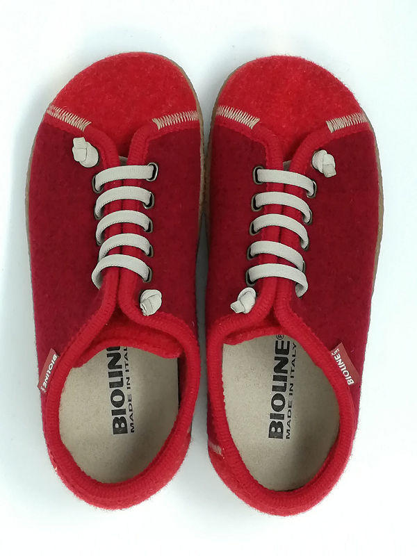 Scarpa Bio Merinos Rosso - BIOLINE