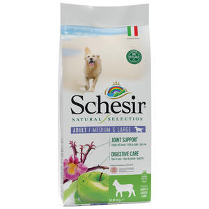 Schesir Natural Selection Adult Medium Large Agnello 2 KG Per Cani Grain Free