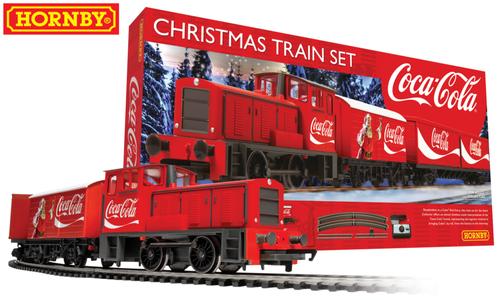"""Set Treno e Rotaie """"COCA-COLA CHRISTMAS"""" di Hornby"""