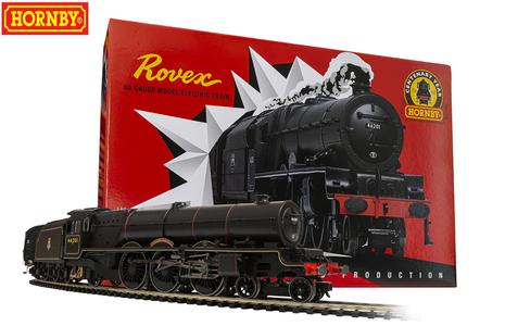 Set Treno e Rotaie Rovex in Edizione Limitata 1000 pz per il Centenario di Hornby