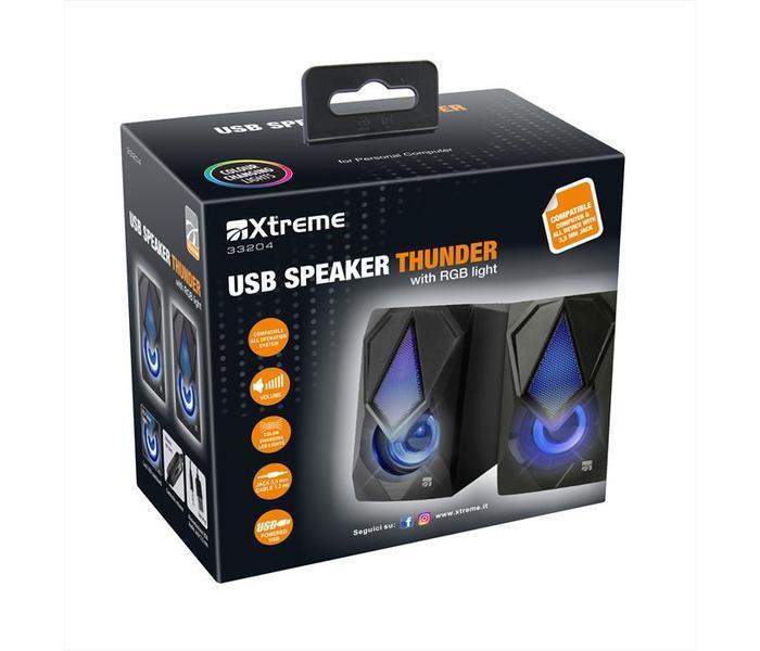 XTREME SPEAKER THUNDER RGB LIGHT 33204