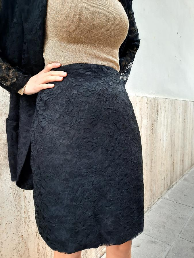 Tailleur in pizzo