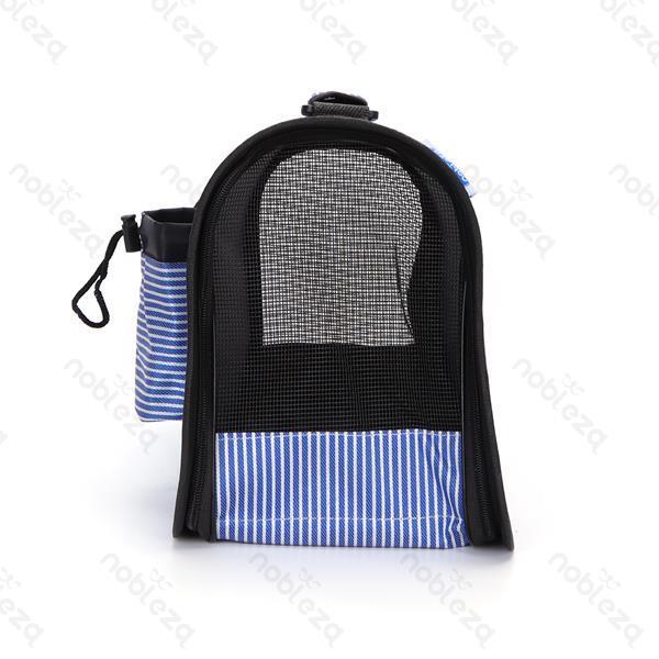 Trasportino Blu con tasche laterali