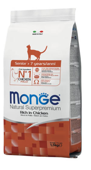 Gatto - Senior Pollo Monge 1,5 Kg