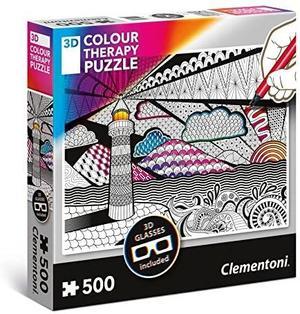 Color Therapy Puzzle 3D - 46 x 36 cm - Clementoni 35052 - 3+ anni
