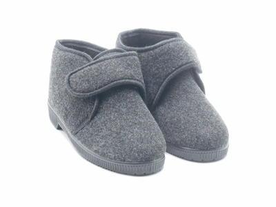 Terry R125 calde pantofole uomo antracite
