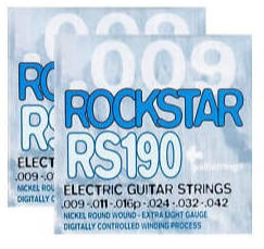 """GALLI STRINGS ROCKSTAR RS190 """"OFFERTA 2 SET"""""""