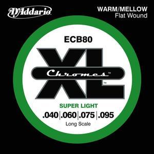 D'Addario ECB80 Chromes Flat Wound