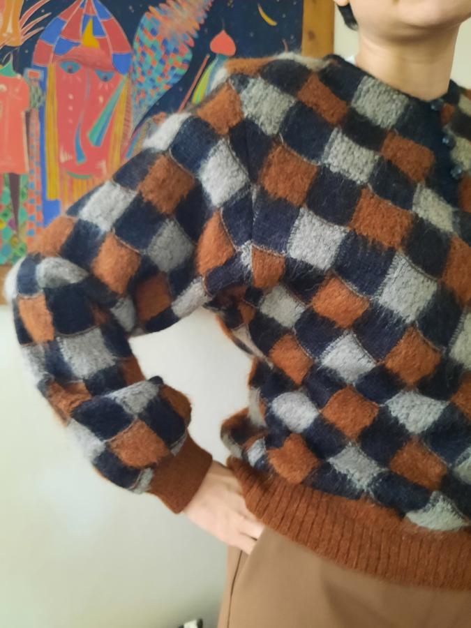 Pullover scacchi