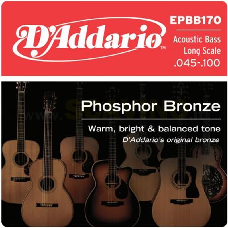 D'Addario EPBB170  045-100