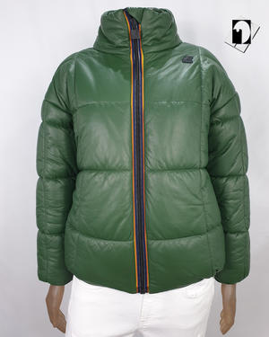 K-Way K111H6W Silas KL Air Padded Double green dk forest