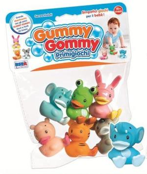 GUMMY GOMMY 6 ANIMALI BUFFI IN BUSTA