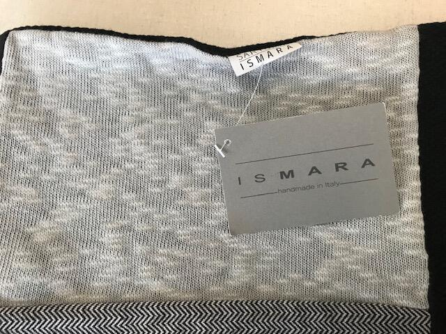 Sciarpa patchwork nera