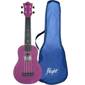 Flight: TUS35 ABS Travel Ukulele - Purple