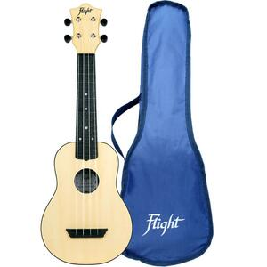 Flight: TUS35 ABS Travel Ukulele - Natural