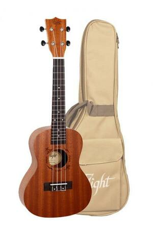 Flight: NUC310 Concerto Ukulele - Sapele (With Bag)