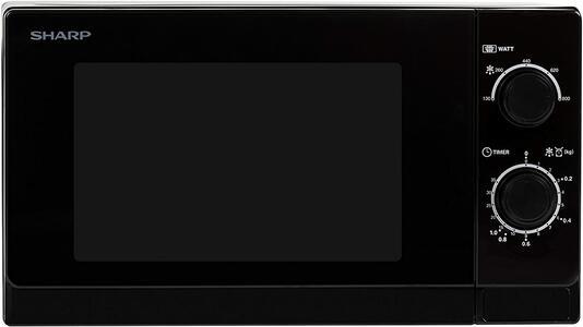 Sharp R-200BKW Piano di lavoro 20L 800W Nero forno a microonde