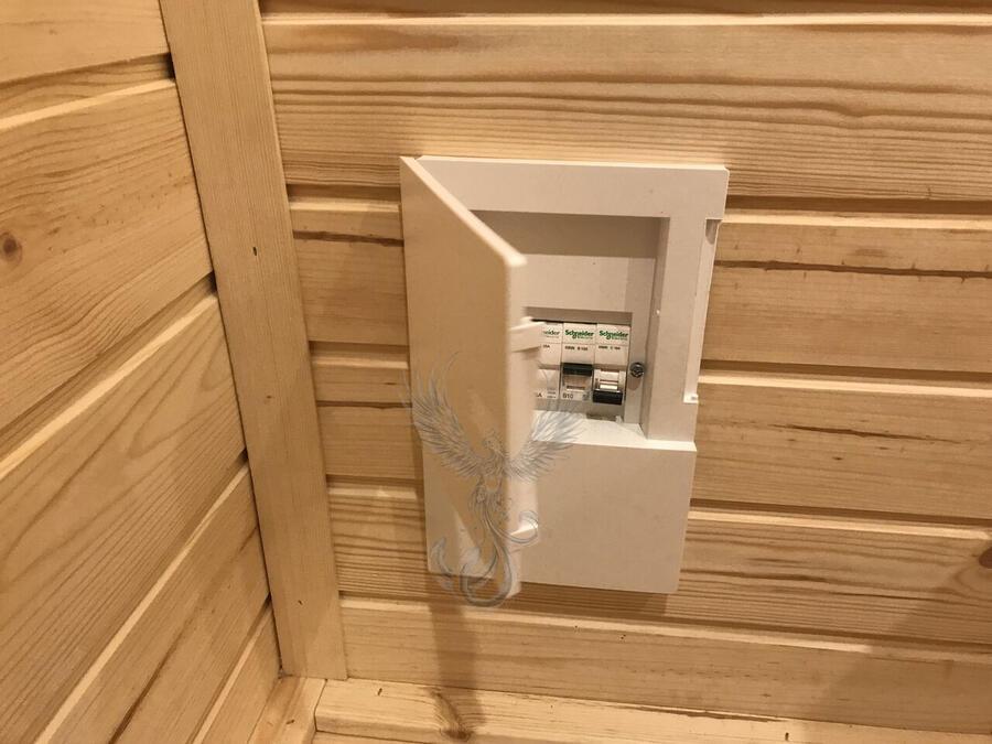 Glamping Pod Side Entry coibentato Mod. Engla 2,40 x 4,80 - 126mm