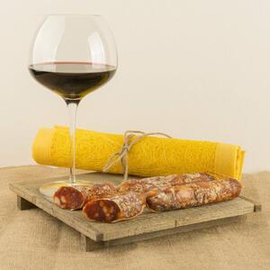 Salsiccia Piccante a catena di Suino Nero, Salamarìa Calabra, 0,300kg