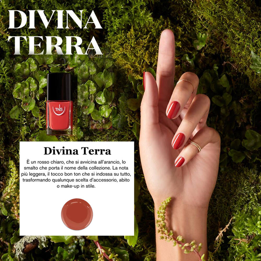 "TNS NAIL COLOUR ""DIVINA TERRA"" 553"