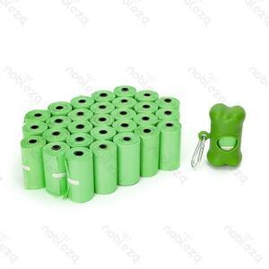 Nobleza Sacchetti Biodegradabili  - 30 Rotoli 450 Sacchetti
