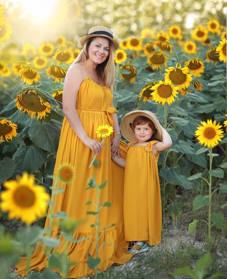 GIRASOLE SET MOMMY AND ME