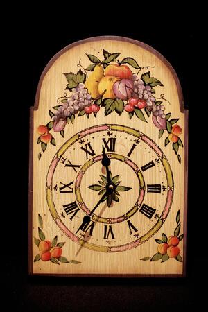 Orologio dipinto a mano