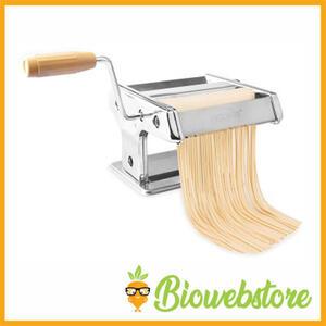 Pasta Maker Macchina Pasta Fresca 9 Posizioni Acciaio