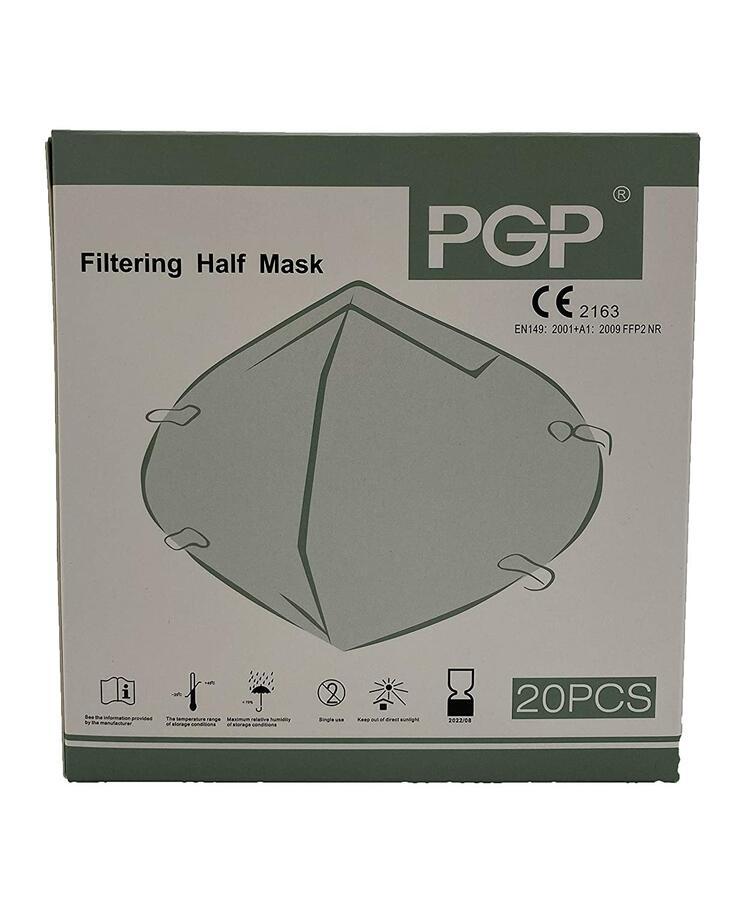 Mascherina certificata - FFP2 KN95 - 20 pezzi