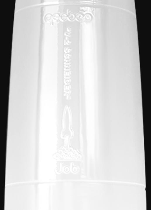 Lampada da Tavolo Schneider V-2 Black and White di Qeeboo in Polietilene - Offerta di Mondo Luce 24
