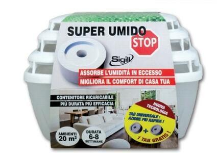 Super Umido Stop Compact + 2 Ricariche