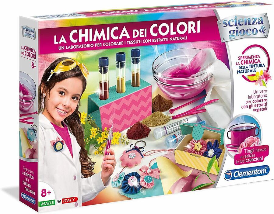 La Chimica dei colori - Clementoni 19027 - 8+ anni
