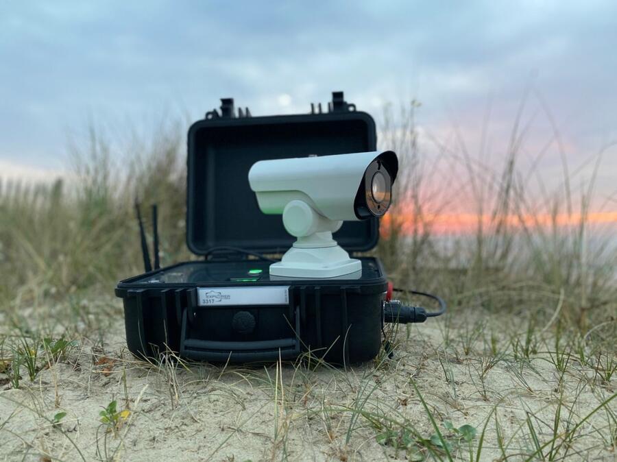CCTV - Kit Militare di Videosorveglianza All-In-One