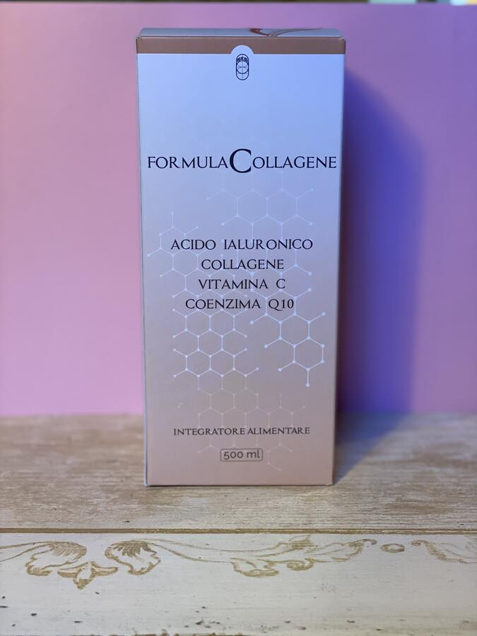 Formula Collagene acido ialuronico vitamina C coenzima Q10 COLLOIDALE