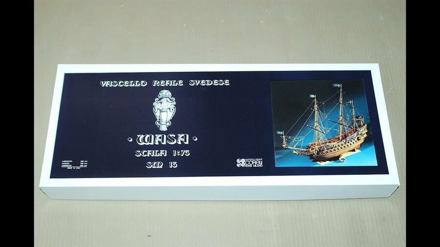Scatola di Montaggio in Legno WASA di Corel - Offerta di Mondo Nautica 24